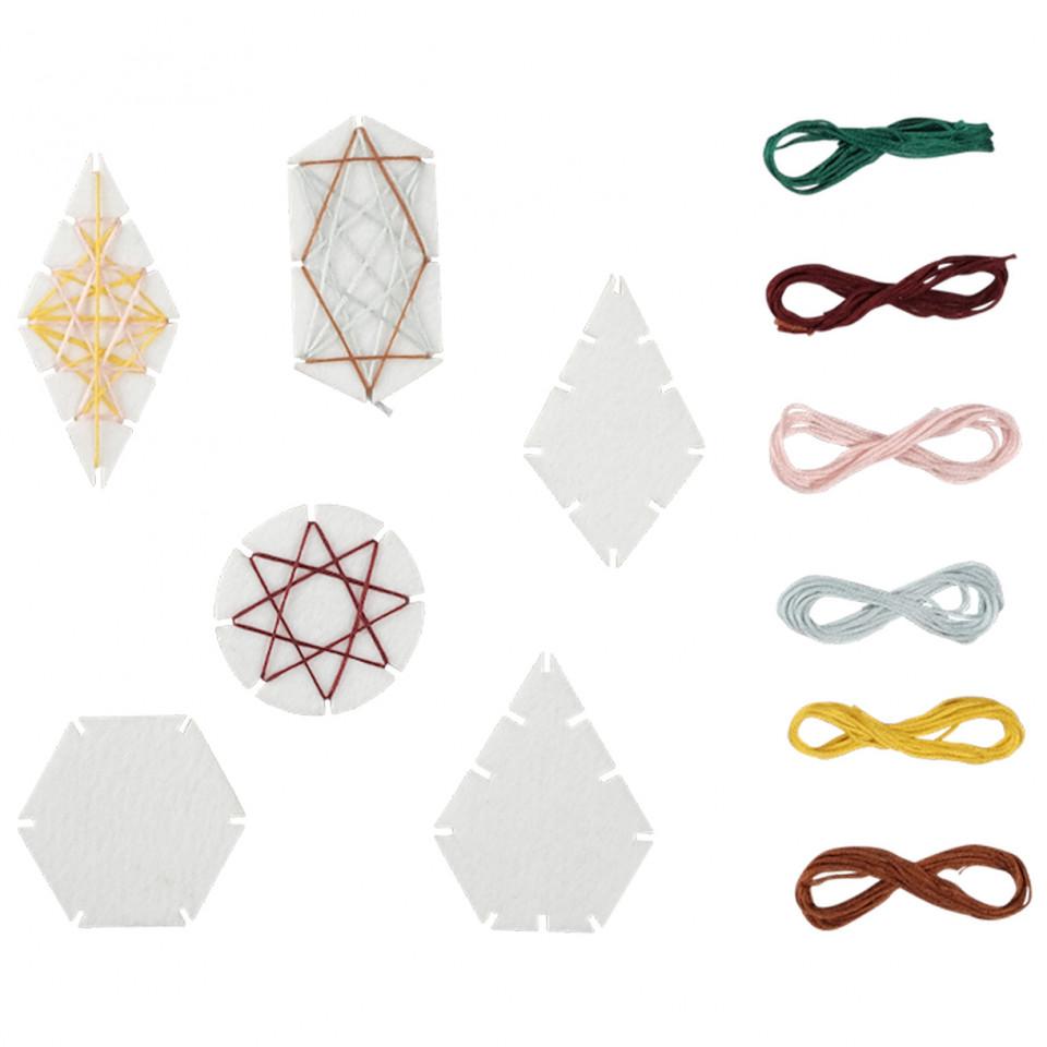 Geometric Ornament Craft DIY
