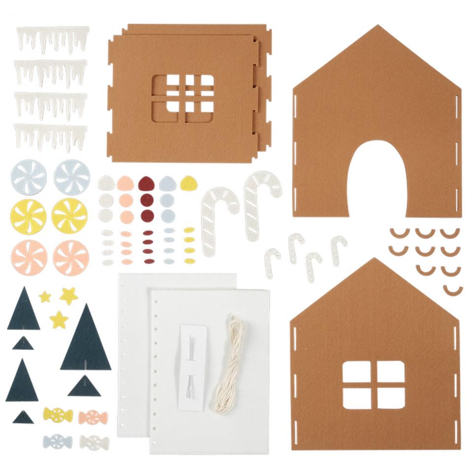 Gingerbread House Kit DIY