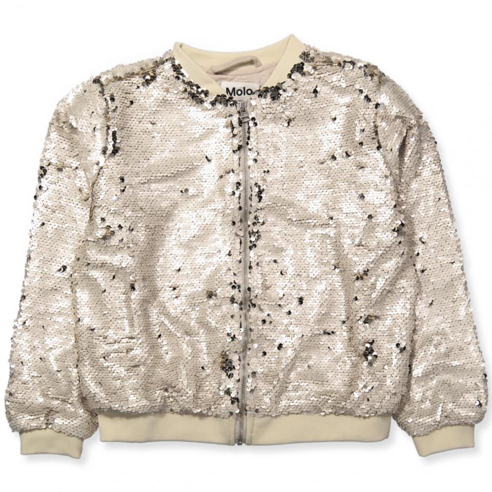 Hansine jakke - vendbare palietter