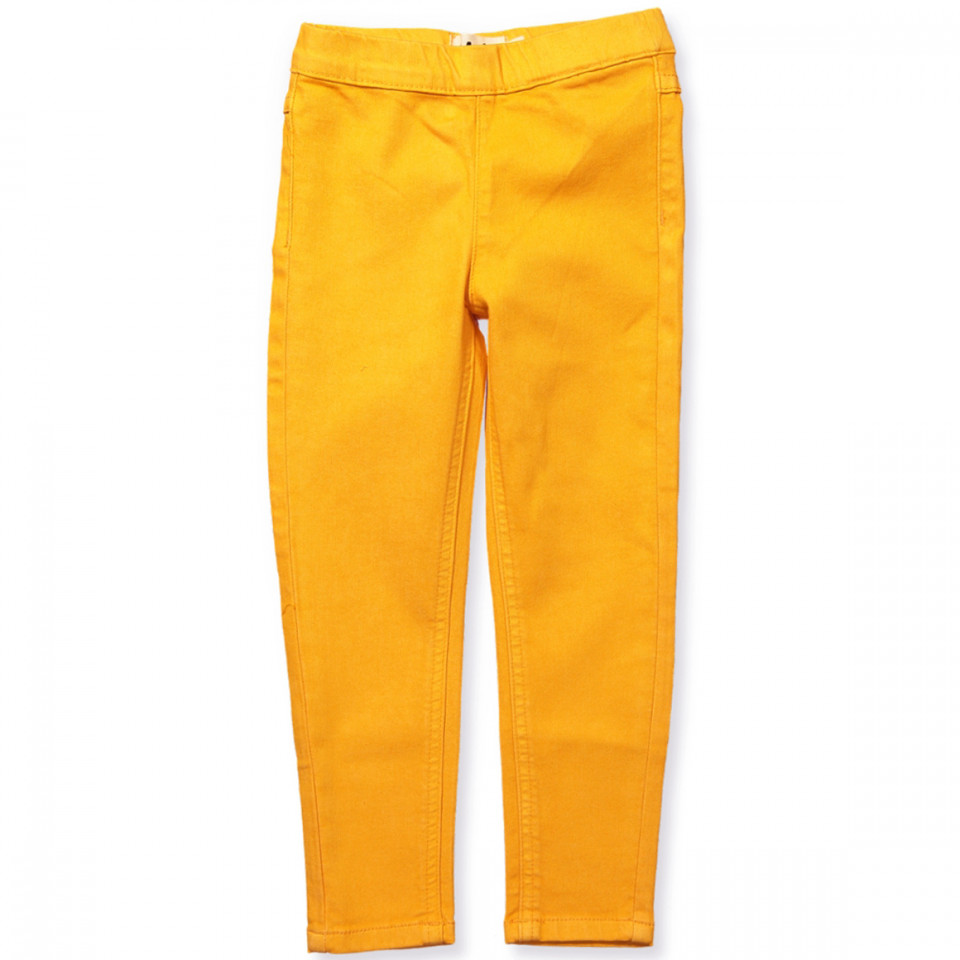 6cbe65cf2e3 Molo - April jeggings - Orange Bloom - Gul