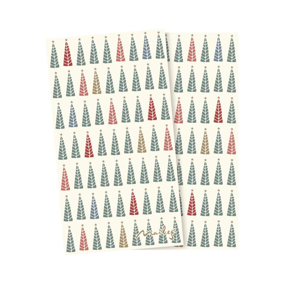 Servietter - juletræer
