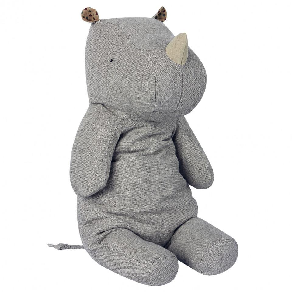 Gråt næsehorn - large