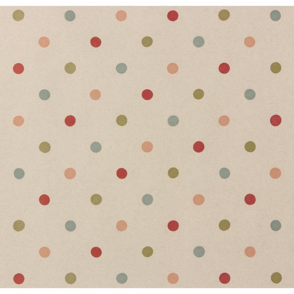 Gavepapir - multi dots
