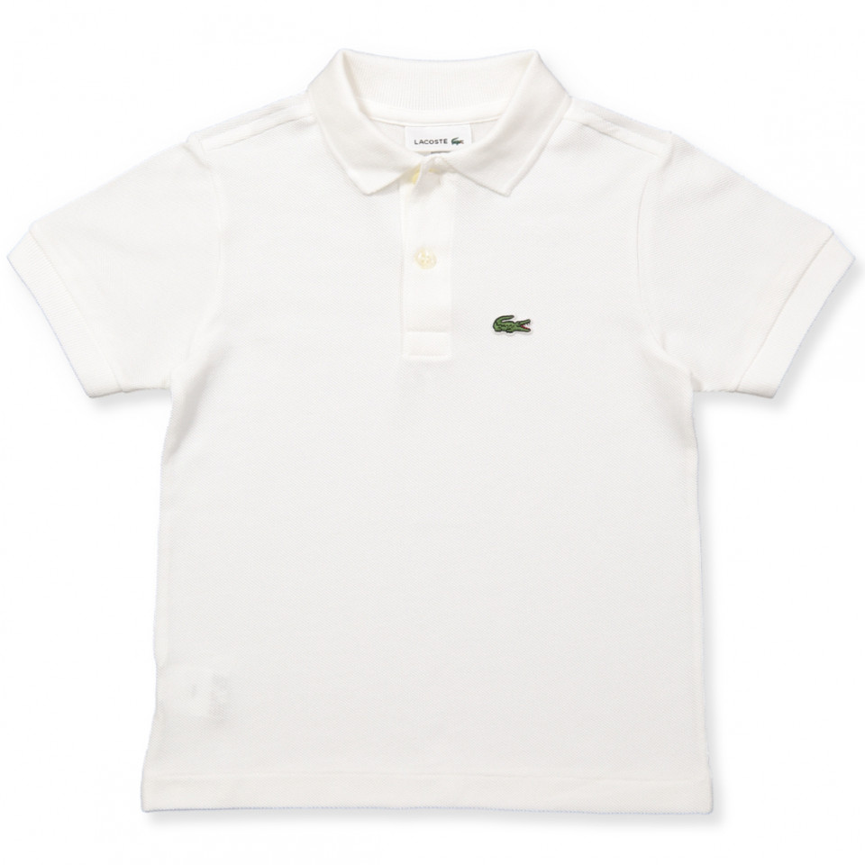 Hvid polo t-shirt