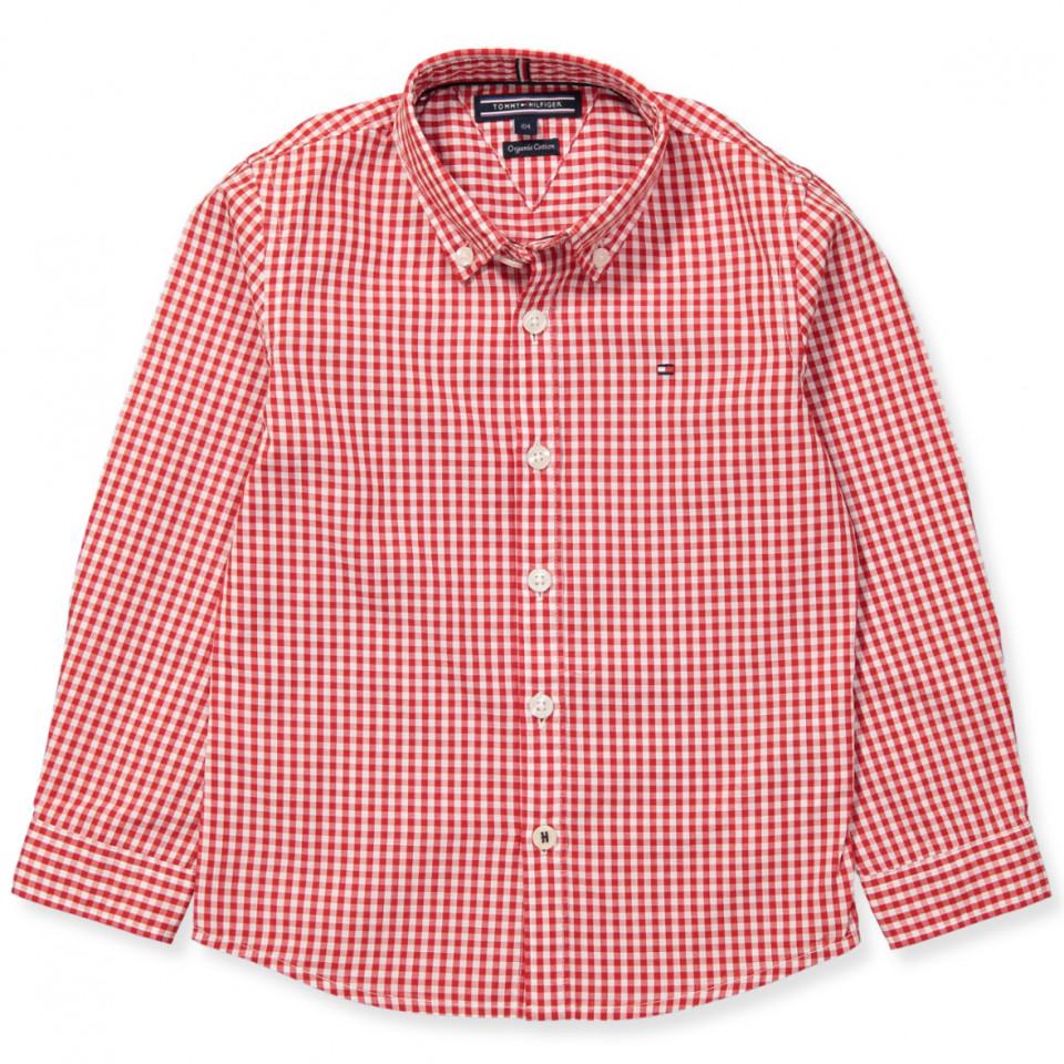 Gingham skjorte - dreng