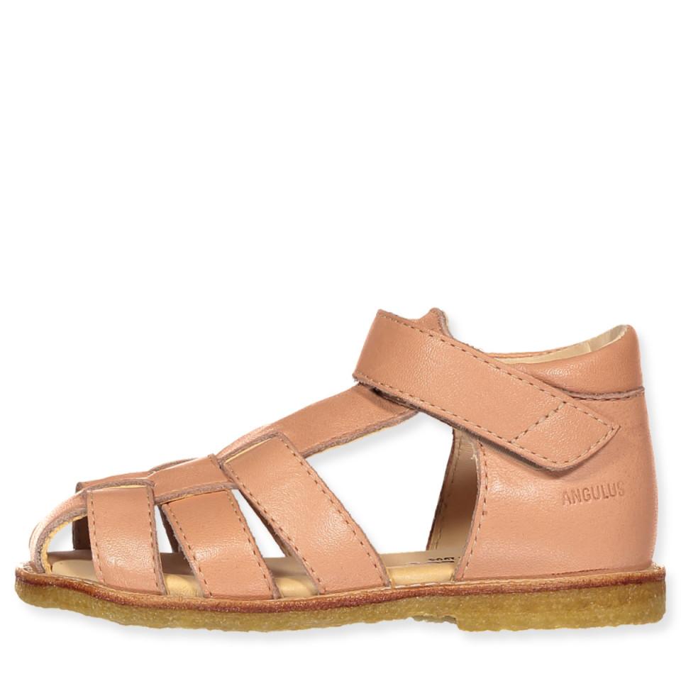 b9c1722081f angulus - Peach sandaler - Støvet Fersken - Rosa
