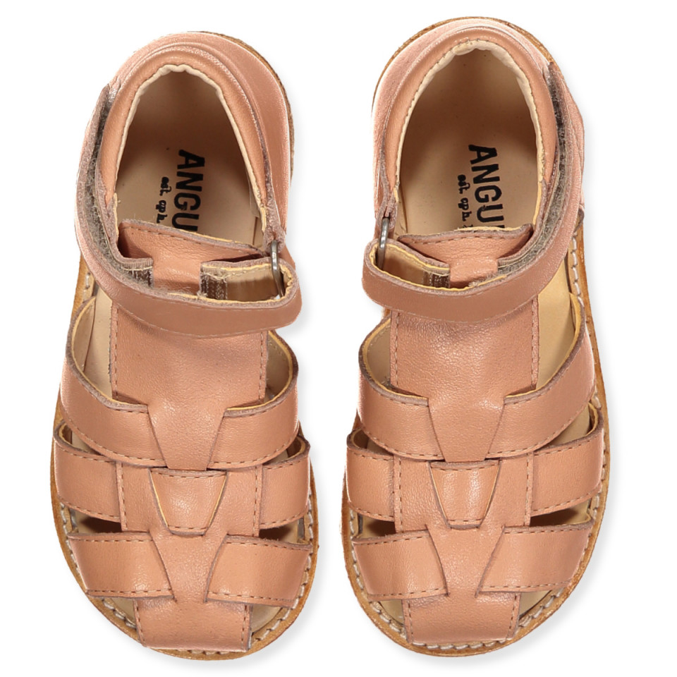 f9f401e1ee5 angulus - Peach sandaler - Støvet Fersken - Rosa