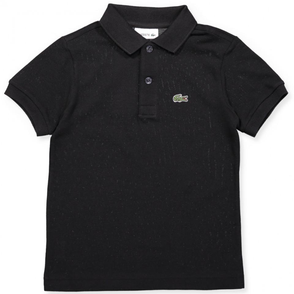 Sort polo t-shirt