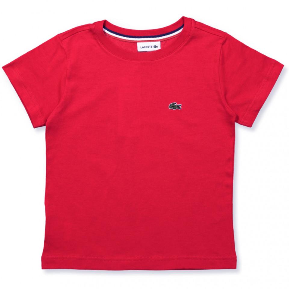 Rød t-shirt
