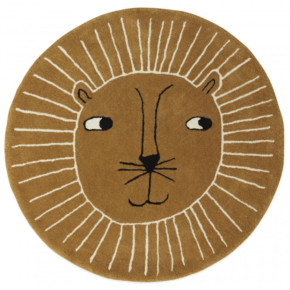 Lion gulvtæppe