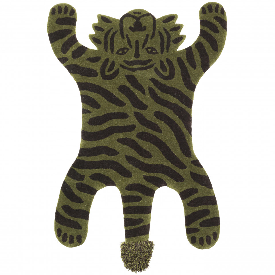 Tiger gulvtæppe