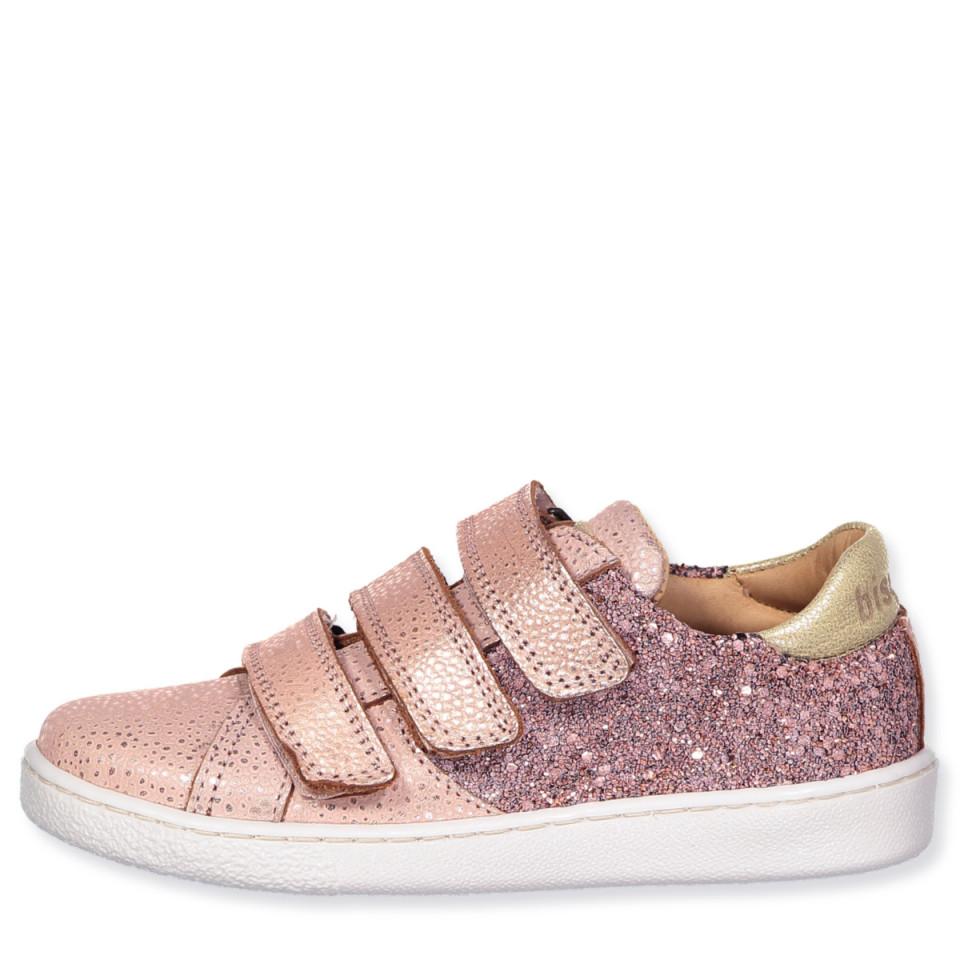 Blush glitter sko