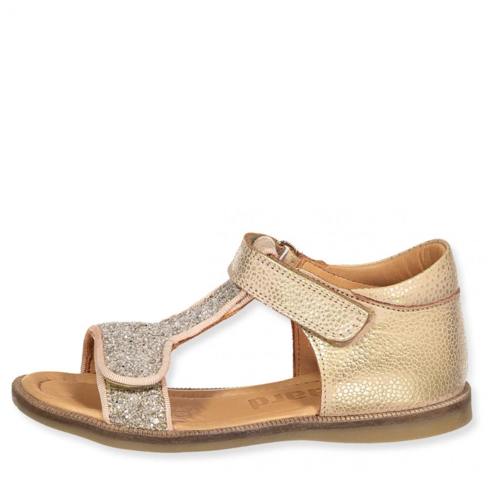 ed0ccaa71f9 Bisgaard - Guld sandaler - gold - Rosa - House of Kids