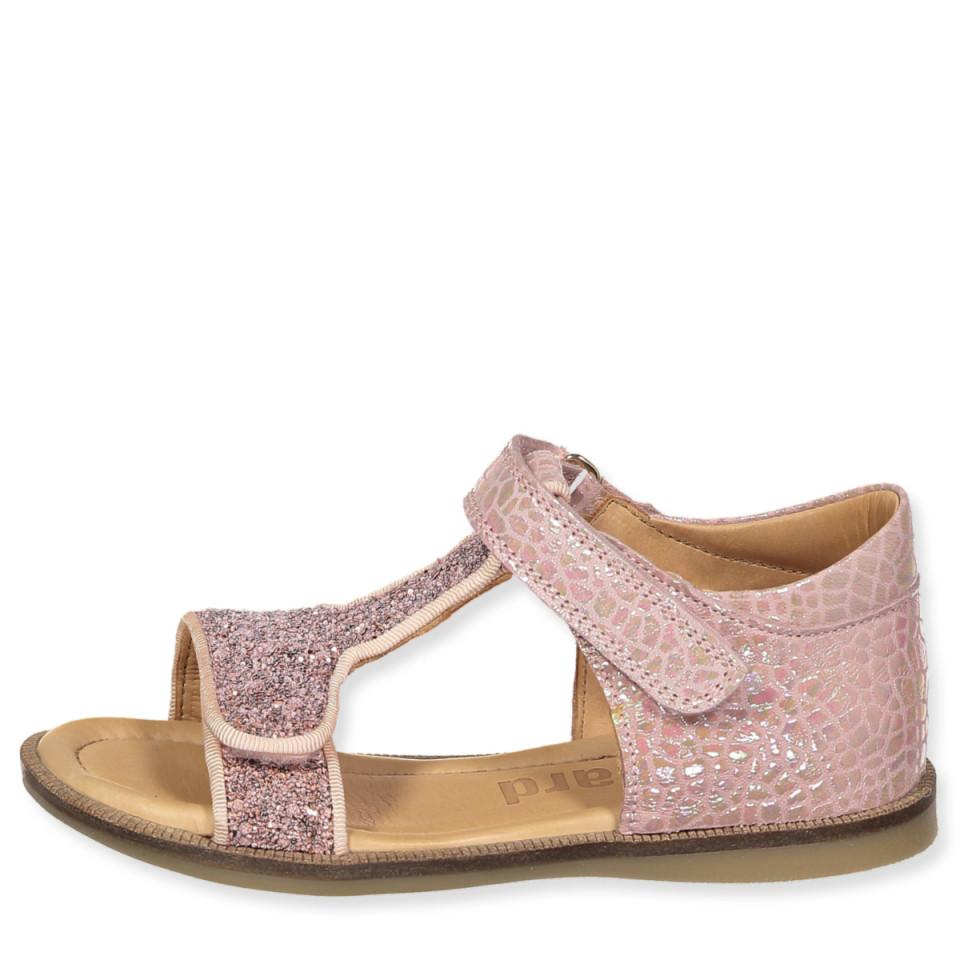 8f4ce7752f3a Bisgaard - Rosa glitter sandaler - shell - Rosa