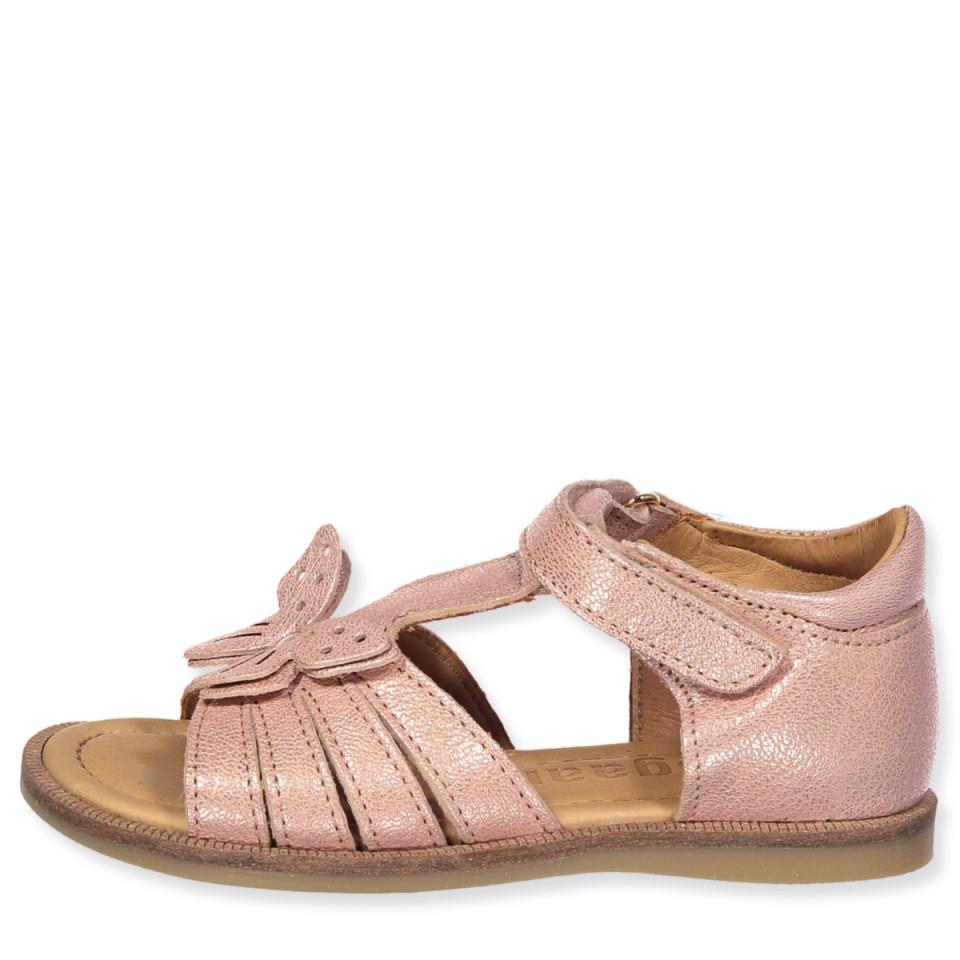 Rosa/Guld sandaler