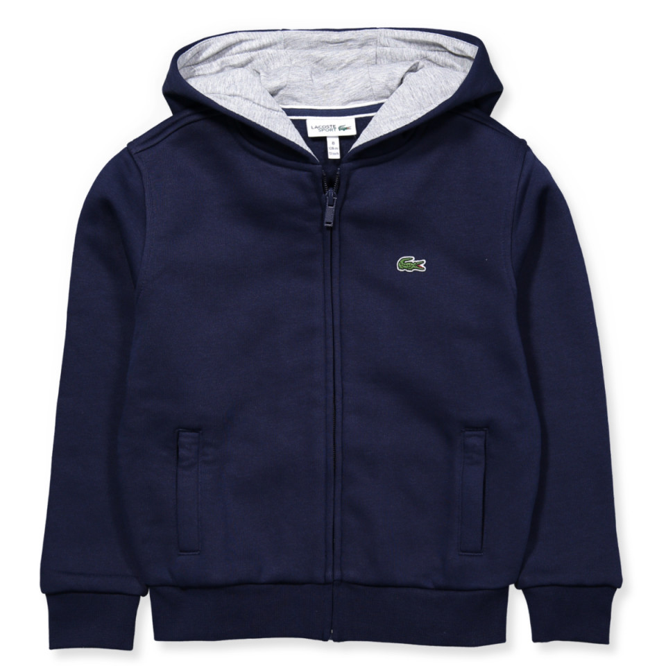 3e62c9996a9 Lacoste - Navy zip sweat - NAVY BLUE/SILVER CHINE