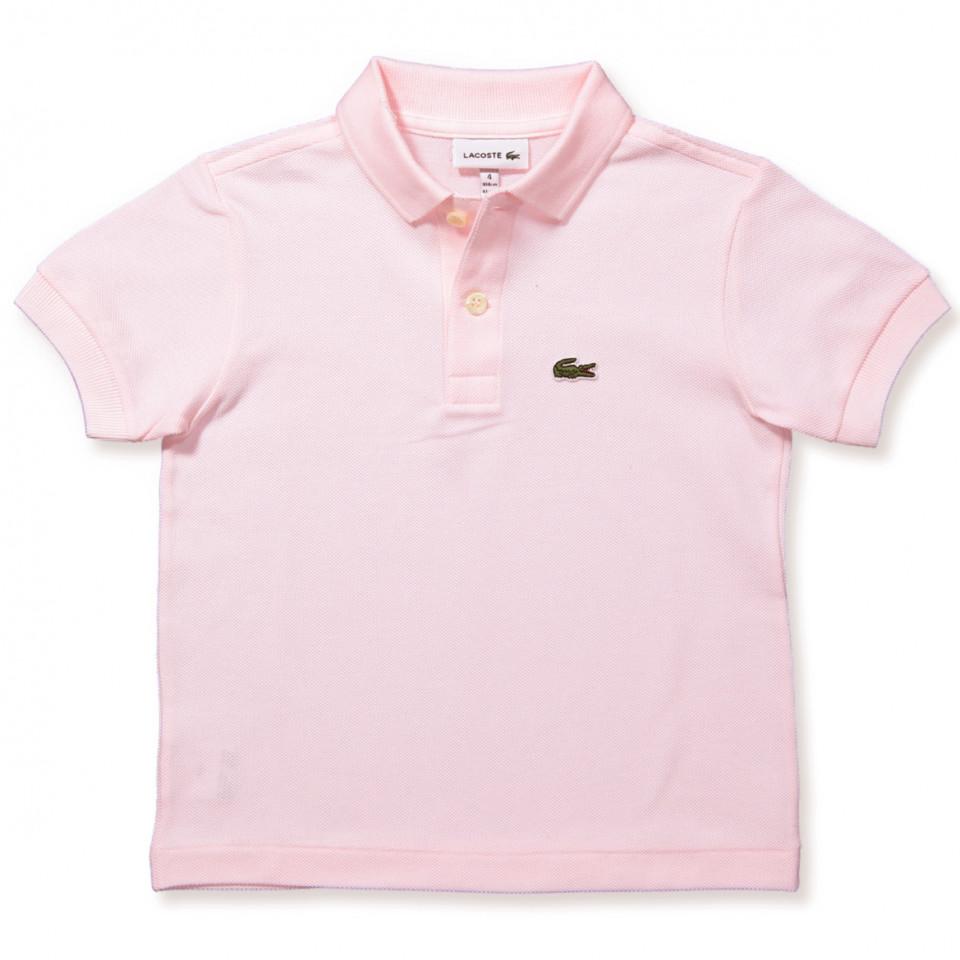 Rosa polo t-shirt
