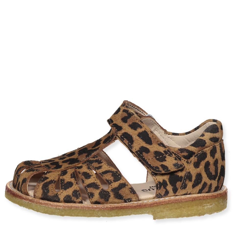 daf2e5966c8 angulus - Leo sandaler - Leopard - Brun - House of Kids