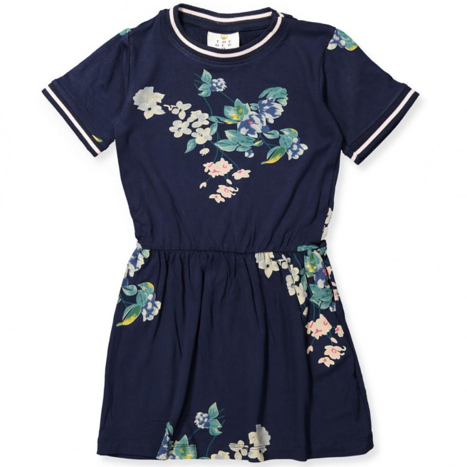 0ef2b6a0 The new - Kaisja kjole - BLACK IRIS - Navy