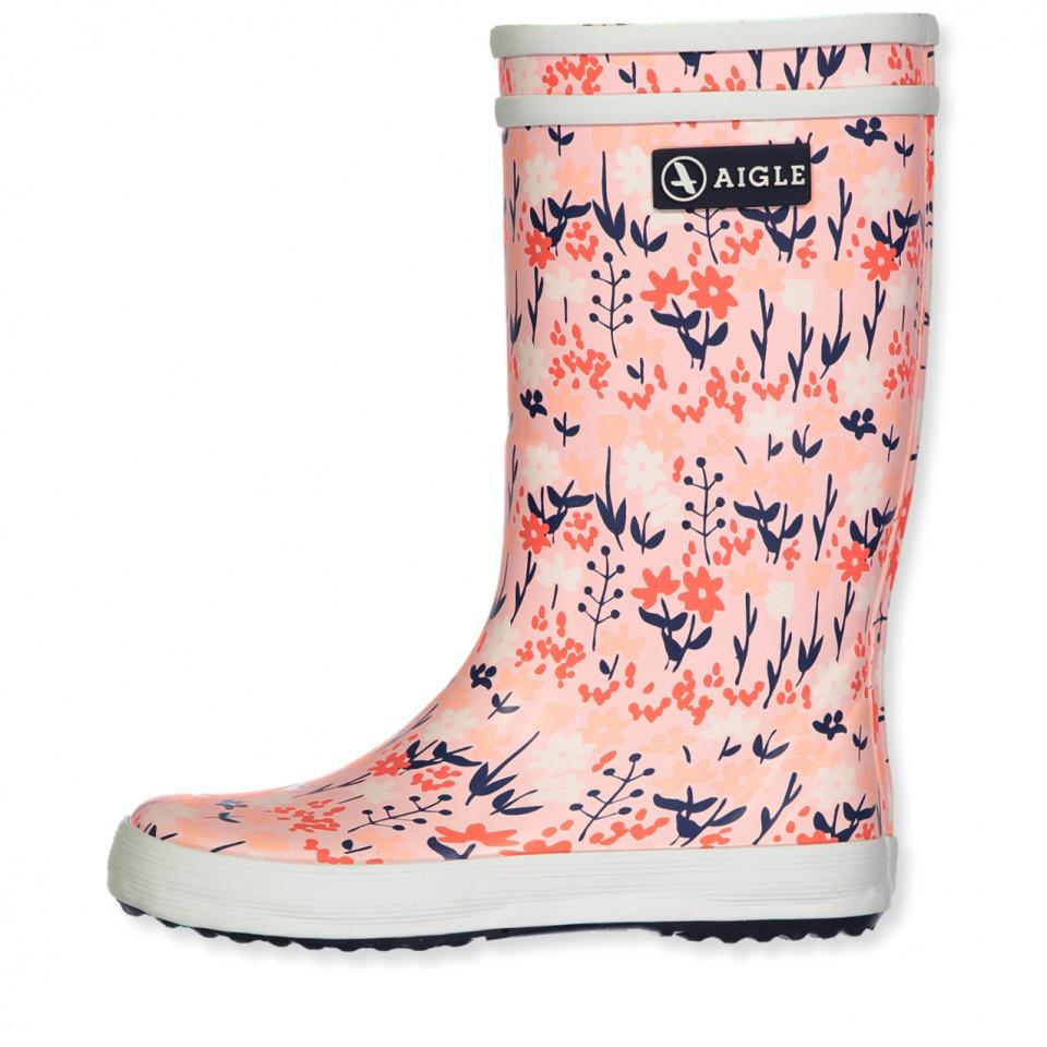 ccbae119280 Aigle - Lolly pop gummistøvler - BLOOMFIELD - Rosa