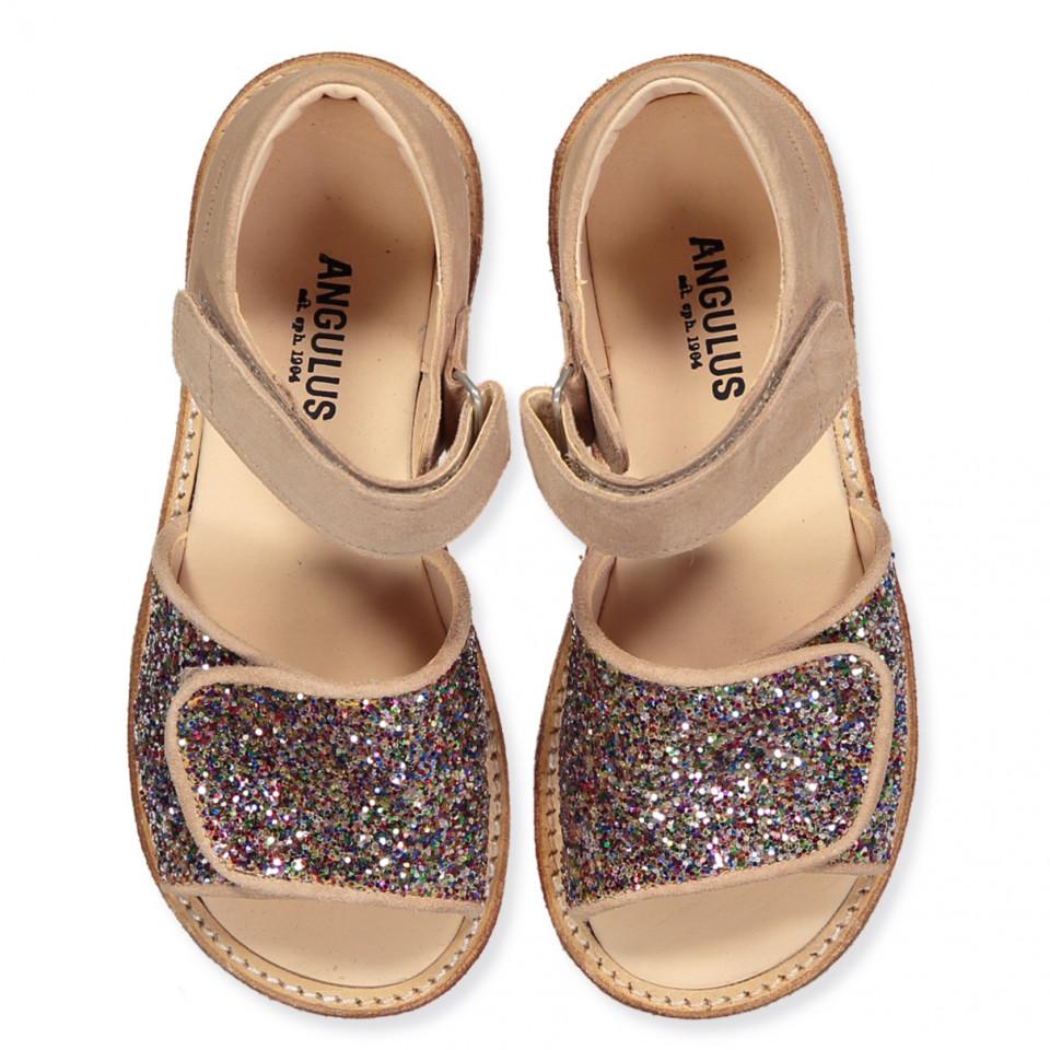 c8557c670f9 Nude glitter sandaler. 12 personer har kigget på denne vare