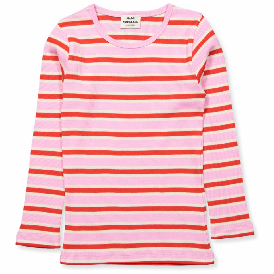 0dcfddb7 Mads Nørgaard - Talino t-shirt - Multi Pink - Pink