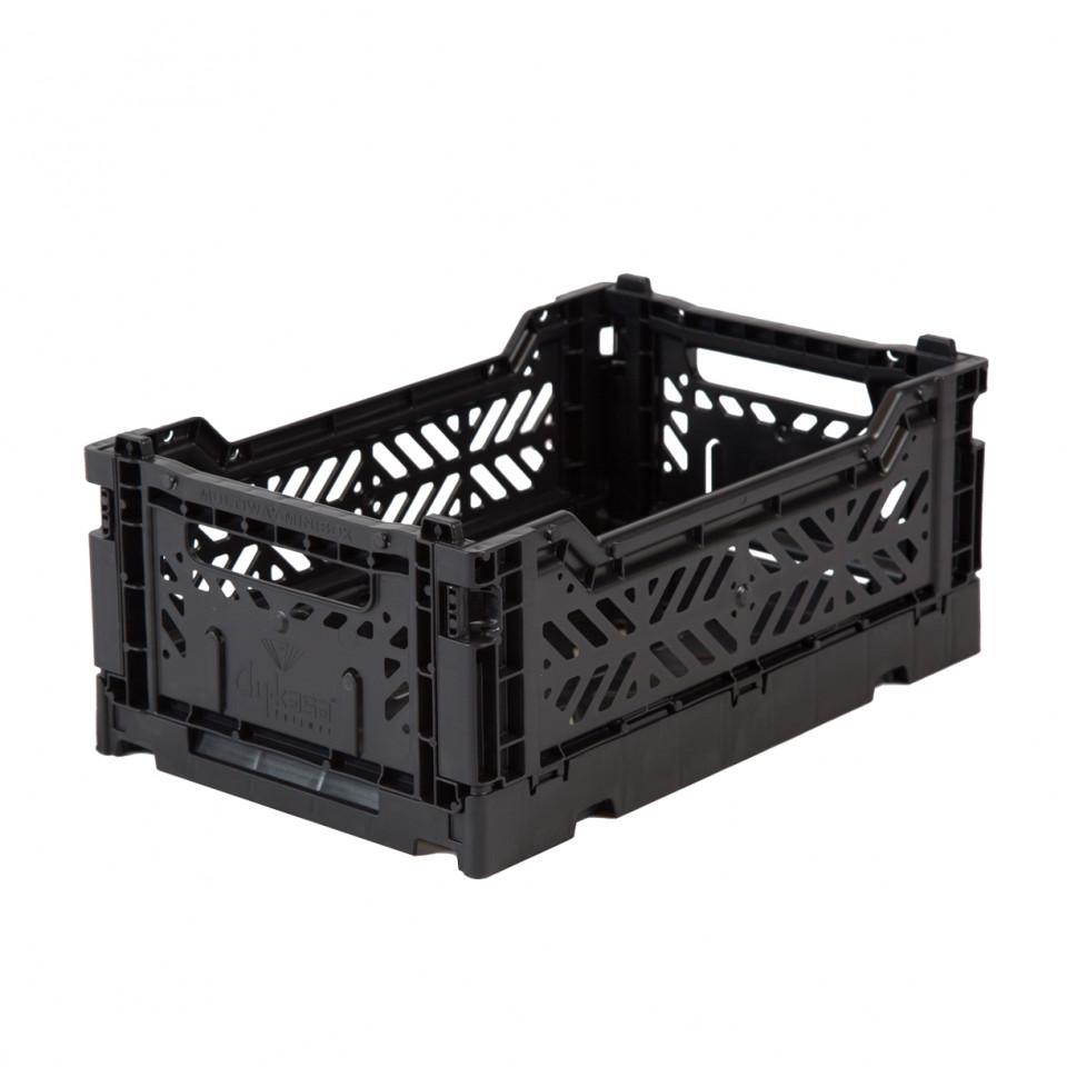 Foldekasse mini - black