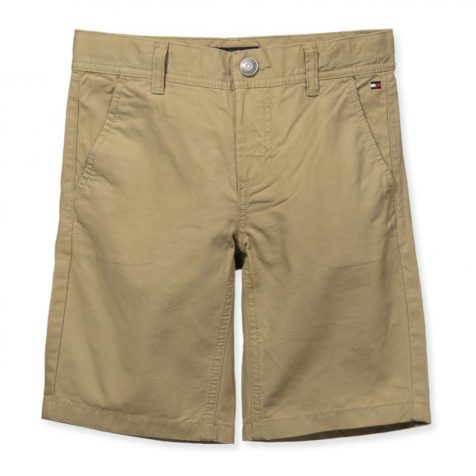 5eb68d2d Tommy Hilfiger - Beige chino shorts - Tiger's Eye