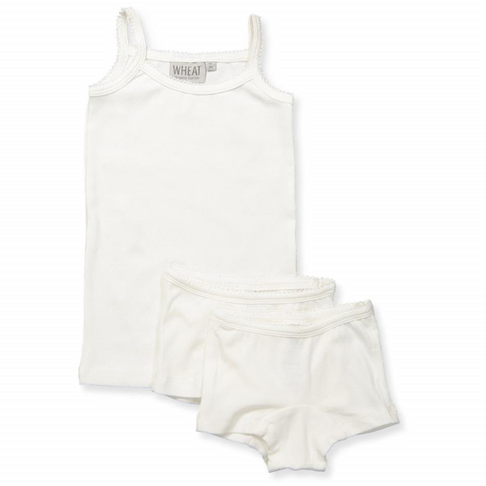 Organic hvidt undertøj