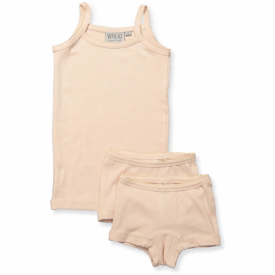 Organic rosa undertøj