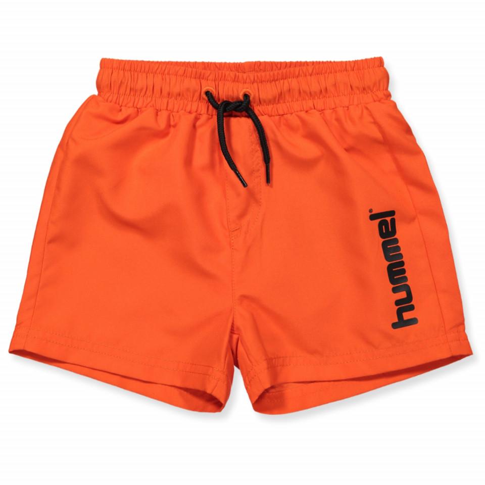 76dfc7c14f5 Hummel - Bay UV 50 badeshorts - SPICY ORANGE - Orange