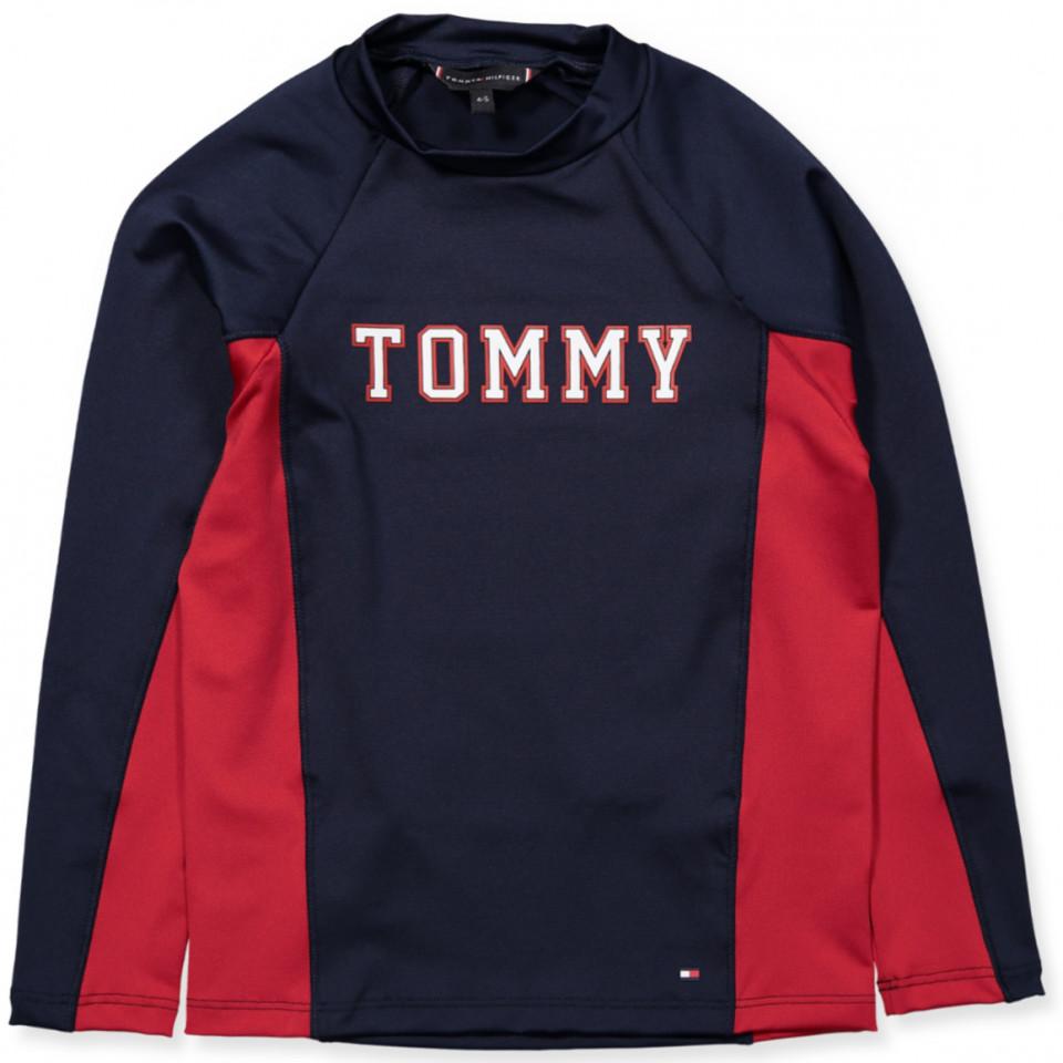 0bb658b1e590 Tommy Hilfiger - Navy UV badebluse - Navy Blazer - Navy