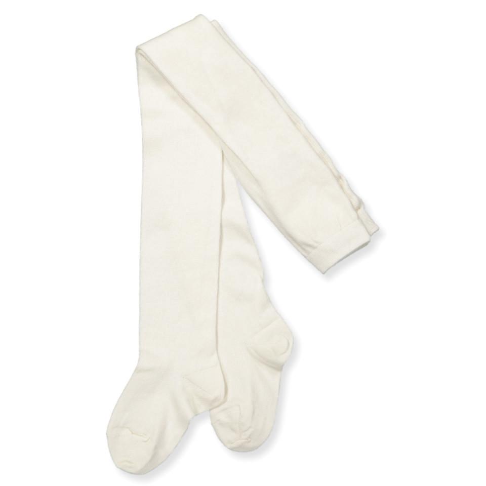 664ca41d833 Mp Denmark - Hvide uld/bomuld strømpebukser - Hvid