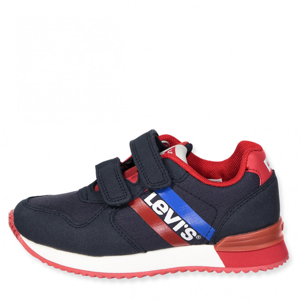 bffa5bd2bc99 Levi s Kids - Springfield sneakers - NAVY RED - Navy