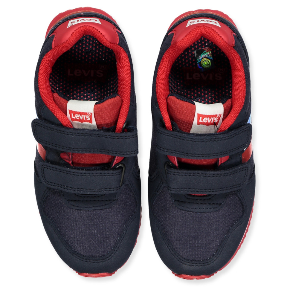 af62bf0fe5e Levi's Kids - Springfield sneakers - NAVY RED - Navy