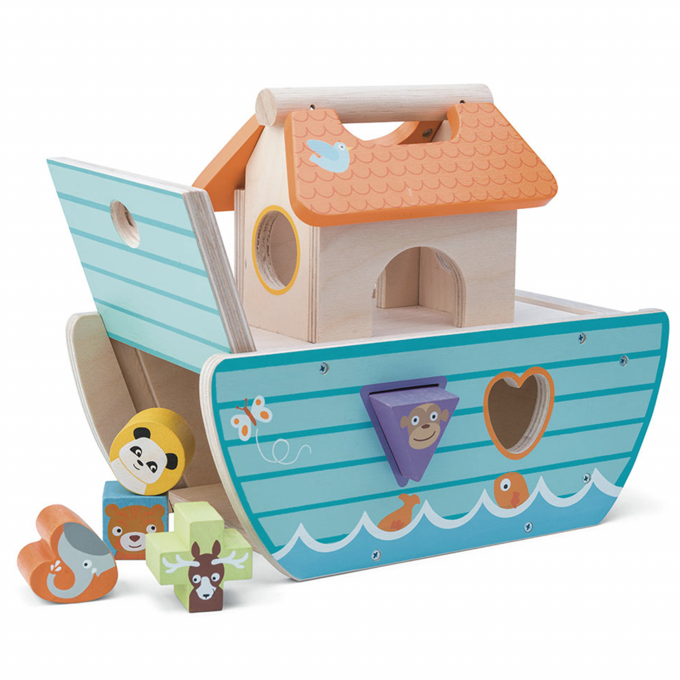 Noahs ark puttekasse - small