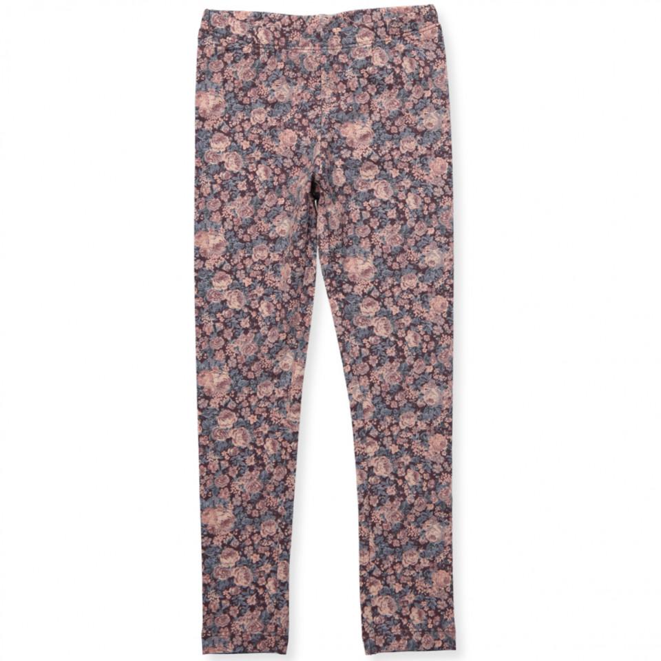 Blomme leggings