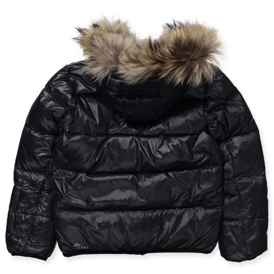 Black vinterjakke