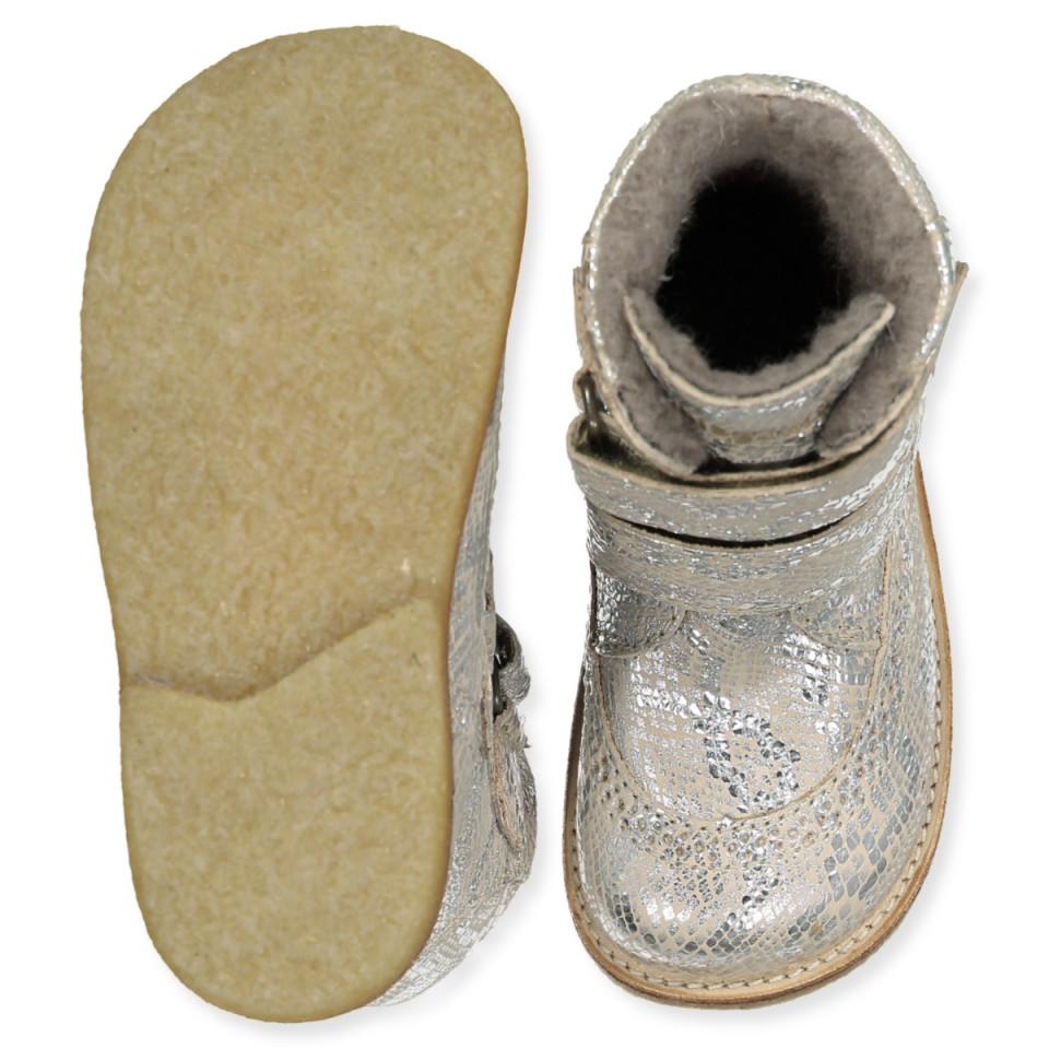 Bisgaard Begyndersko Velcro Silver