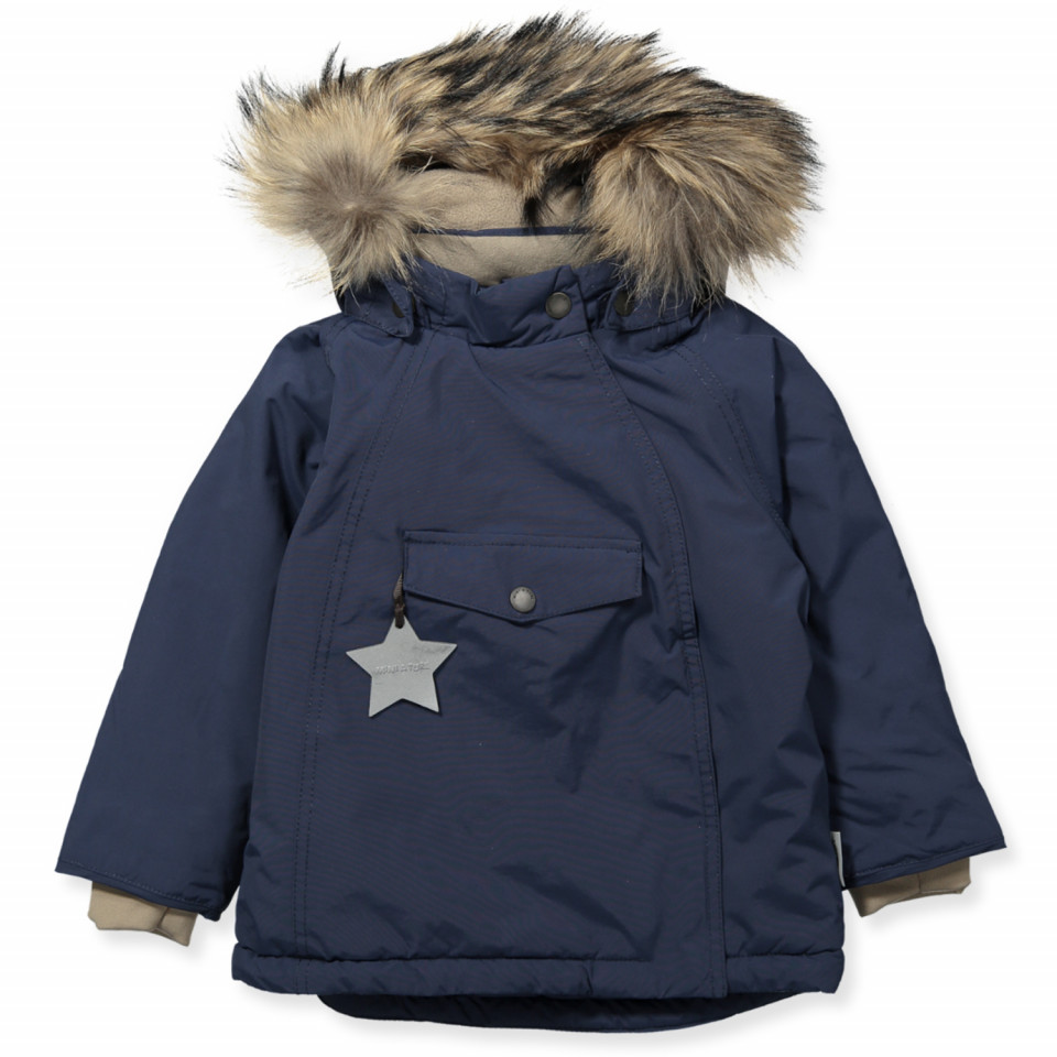 Wang vinterjakke med pels