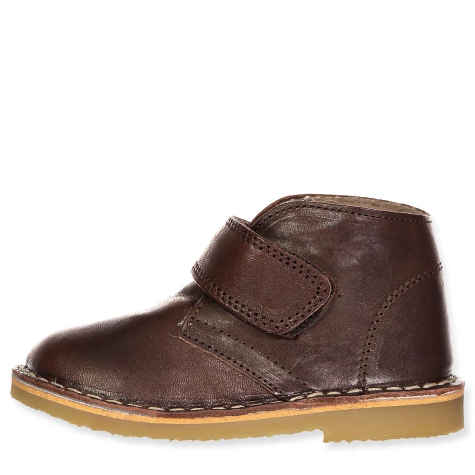 Brune vinterstøvler