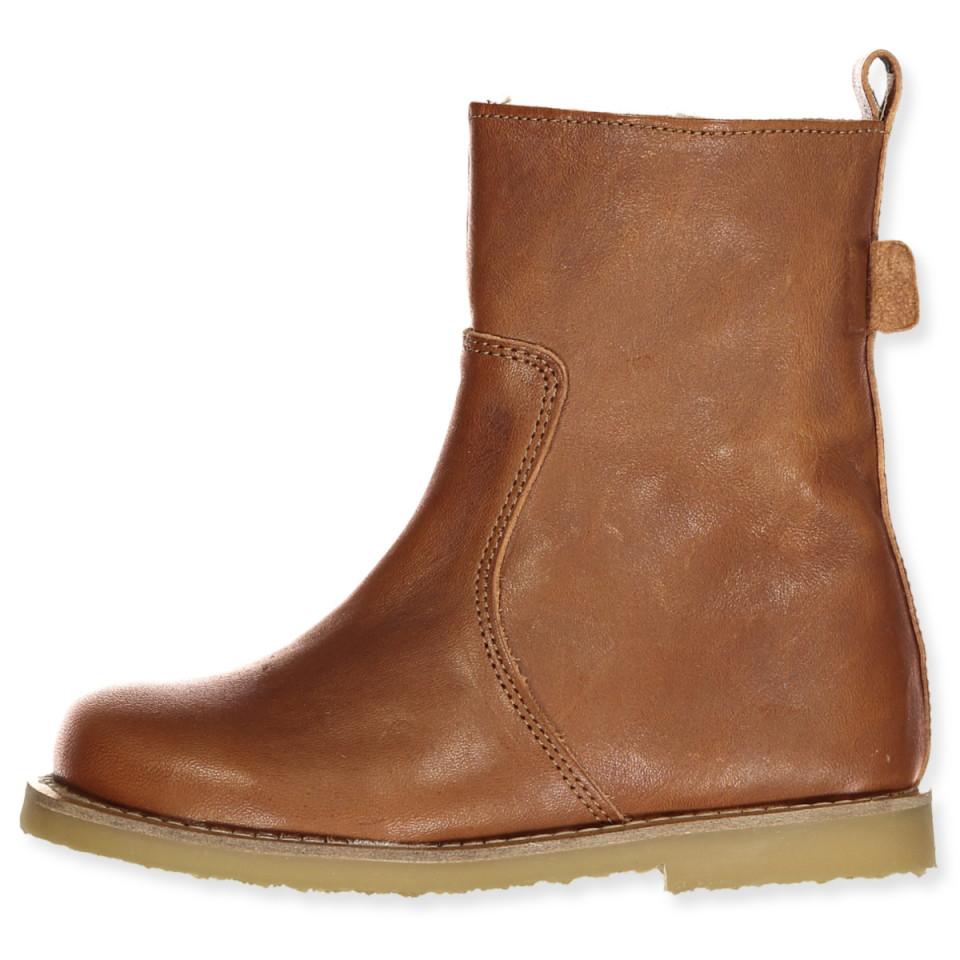 Cognac tex vinterstøvler