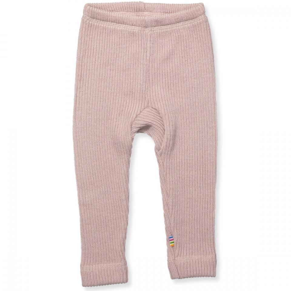 Rosa uld leggings