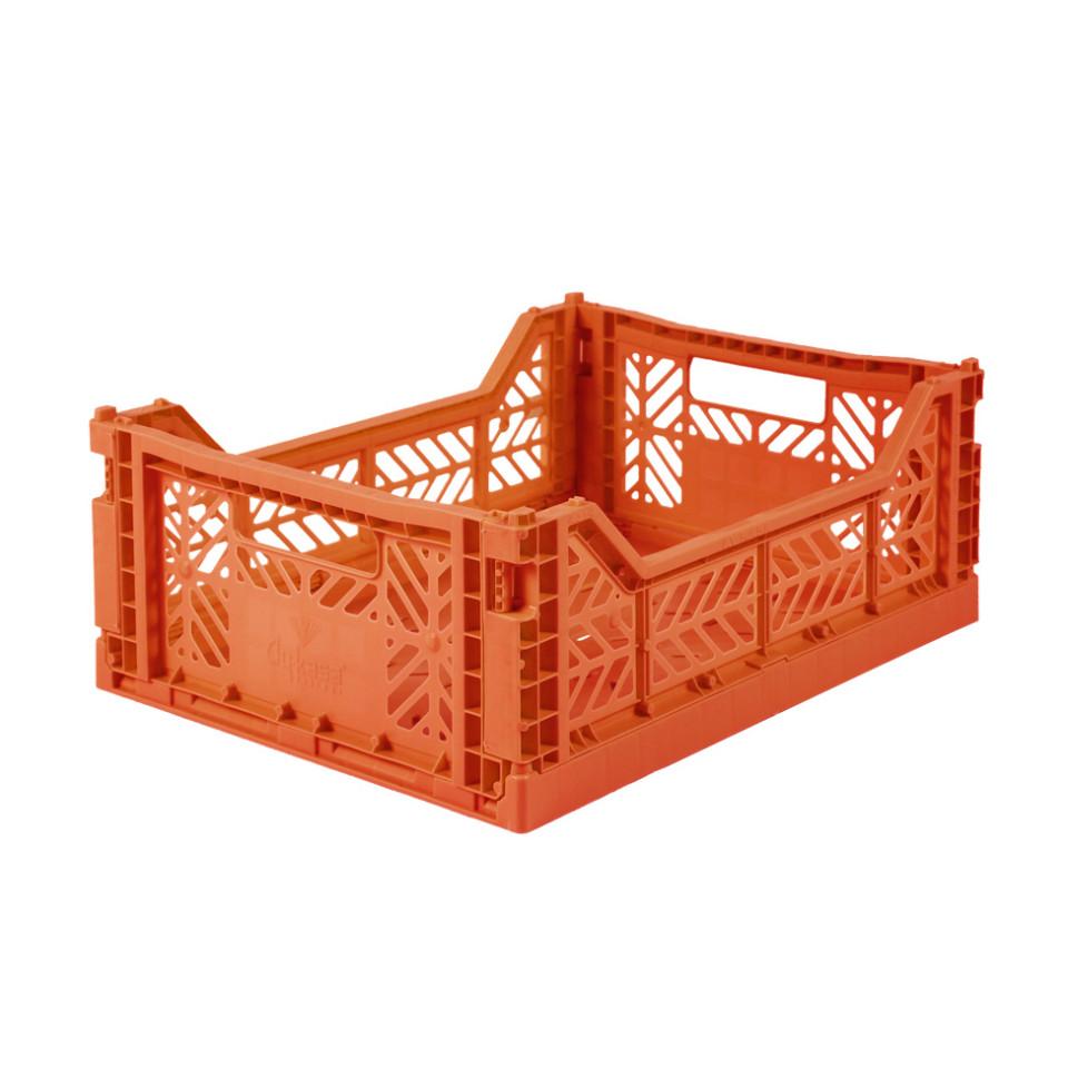 Foldekasse midi - orange