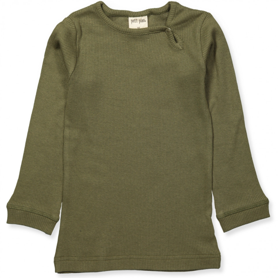 Olive green bluse