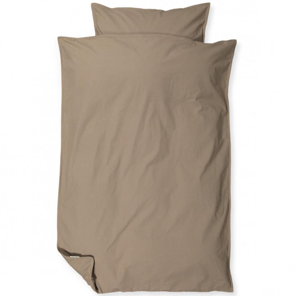 Taupe sengetøj