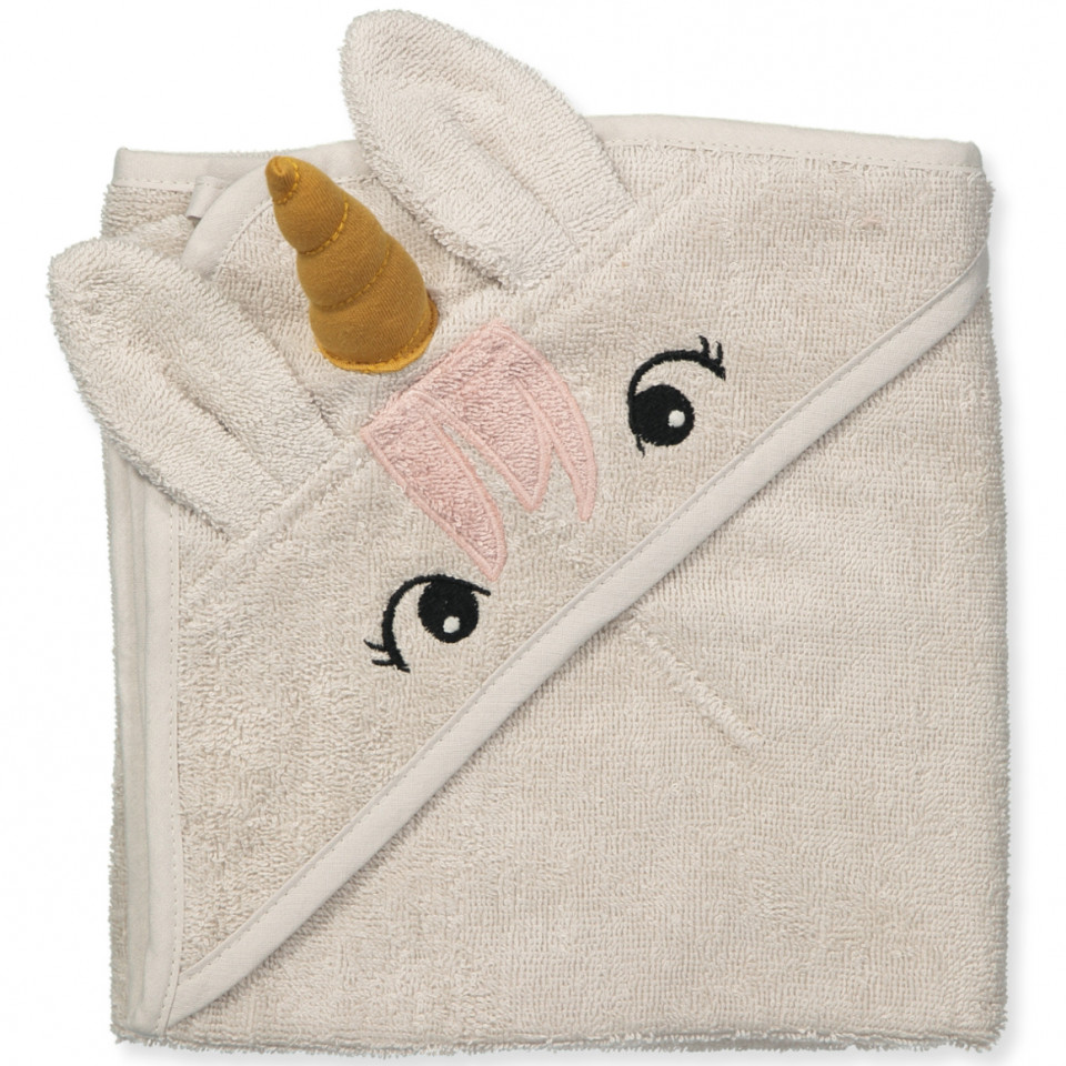 Organic Albert babyhåndklæde