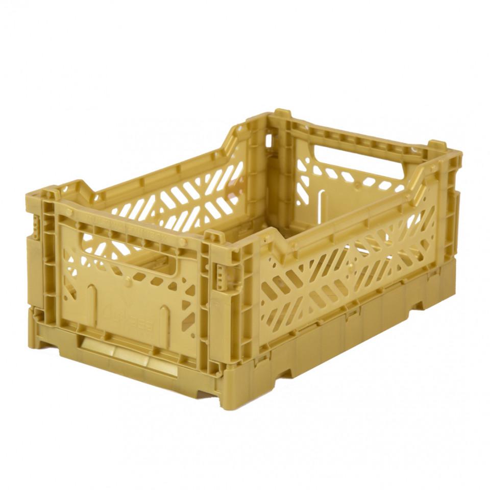 Foldekasse mini - gold