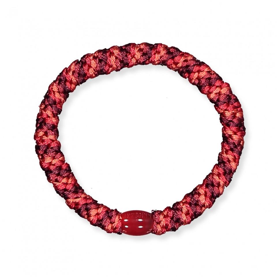 Kknekki hårelastik - rød