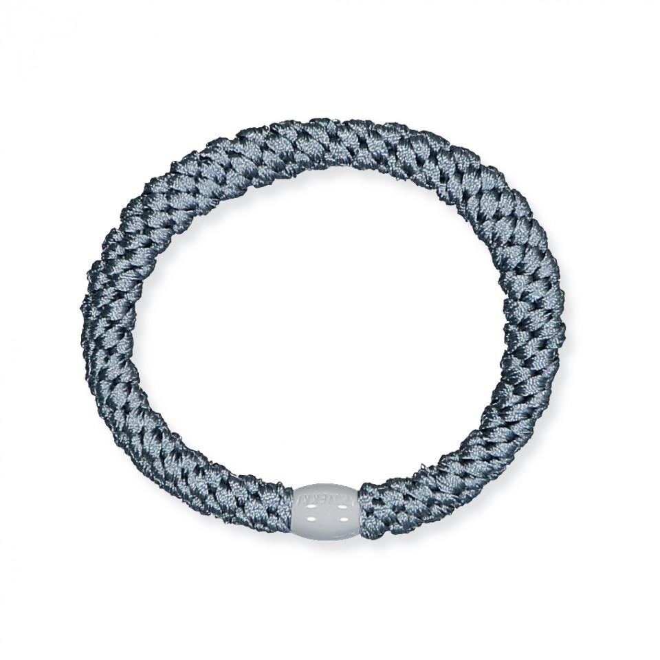 Kknekki hårelastik - gråblå